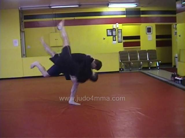 Click for a video showing a Judo for MMA technique called Harai Goshi for MMA - Sweeping Hip for MMA